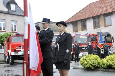 Galeria Przekazanie nowego wozu strażackiego dla OSP
