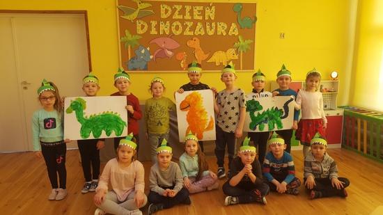 Galeria Dzień dinozaura w Przedszkolu Samorządowym w Rychtalu