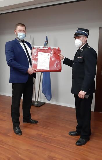 Galeria Przekazanie noszy dla OSP i Ratownictwa Medycznego
