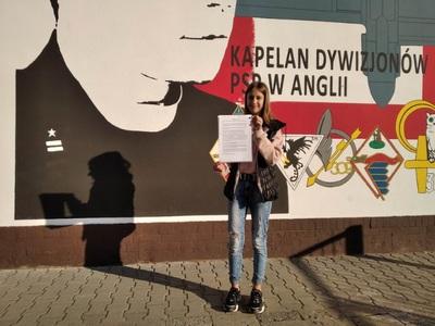 Galeria Wybory samorządowe w Szkole Podstawowej im. Ojca Konrada Stolarka w Rychtalu w roku szkolnym 2020/2021
