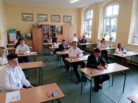 Galeria Egzamin ósmoklasisty w 2021r w Szkole Podstawowej