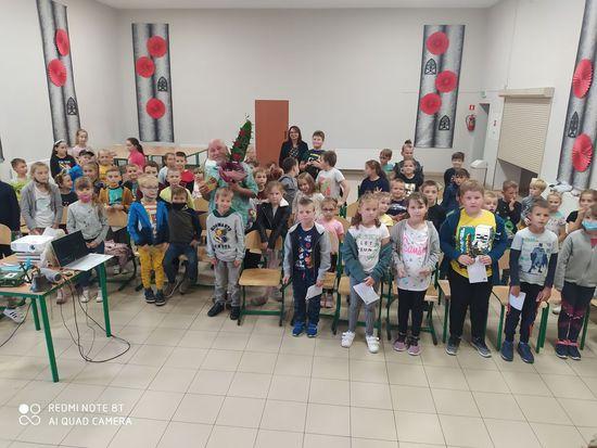 Galeria Z Łukaszem Wierzbickim ,,Książki czytamy i świat zwiedzamy''